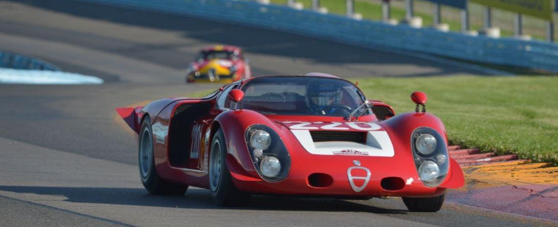 1968 Alfa Romeo Tipo 33/2 Daytona Coupe - Jay Lliohan.
