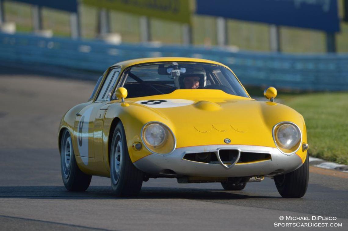 1963 Alfa Romeo TZ1, Joseph Colasacco.
