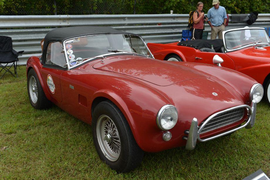 1965 AC Cobra 289 CSX 2490 of Tom Cotter