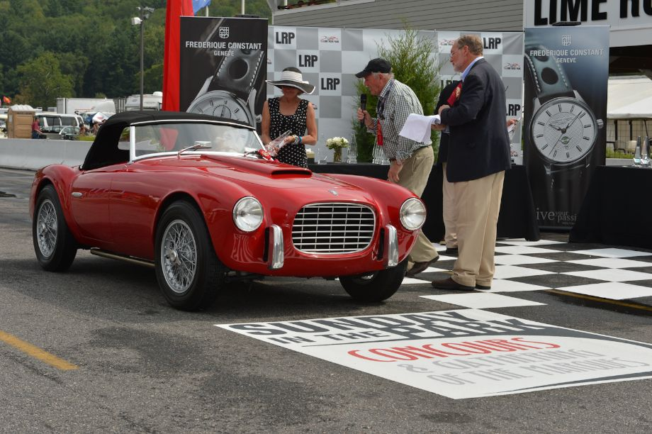 """For Road or Track,"" sports cars 1945 to 1955; the cars the boys brought home First: 1953 SIATA 208S, Robert Wilder, Jr., Stanfordville, N.Y."