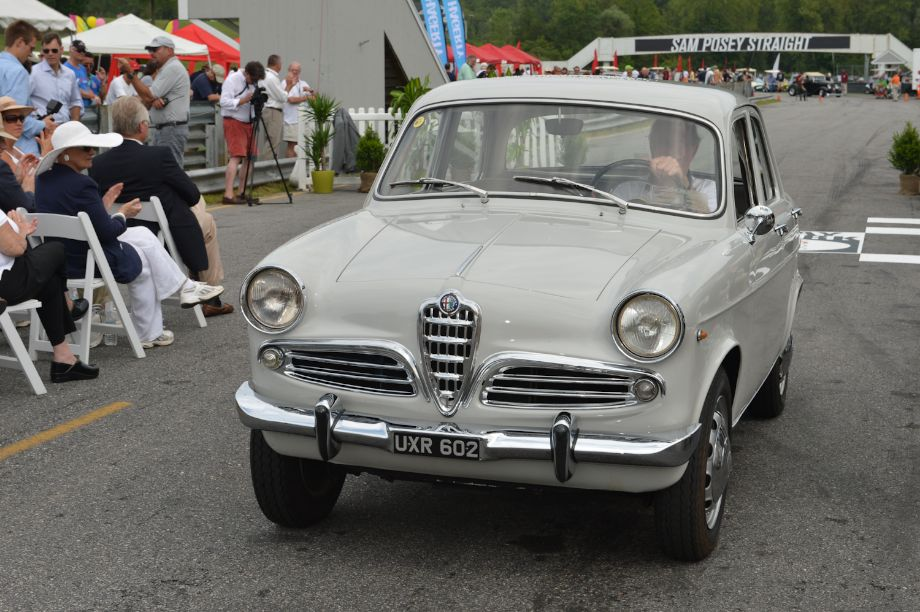 """Just as We Found It,"" untouched or minimally massaged originals First: 1960 Alfa Romeo Giulietta Berlina, Bob Cess, Litchfield, Conn."