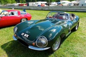 Jaguar XKSS - Sunday in the Park Concours at Lime Rock 2010