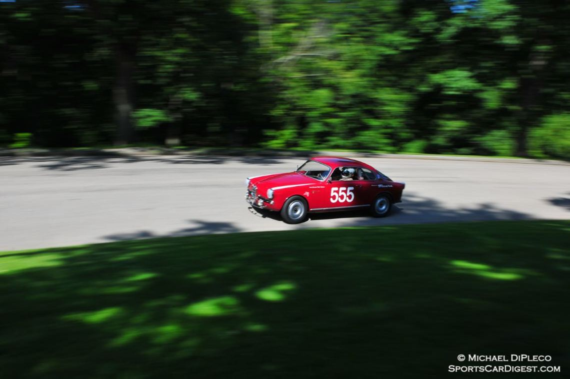 The Mighty 555 Alfa Romeo Sprint Veloce of Santo Spadaro.
