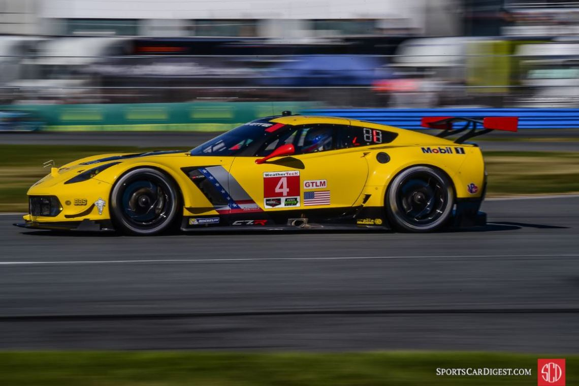 GTLM Class Winner - Chevrolet Corvette C7.R at 2016 Rolex 24 Hours of Daytona