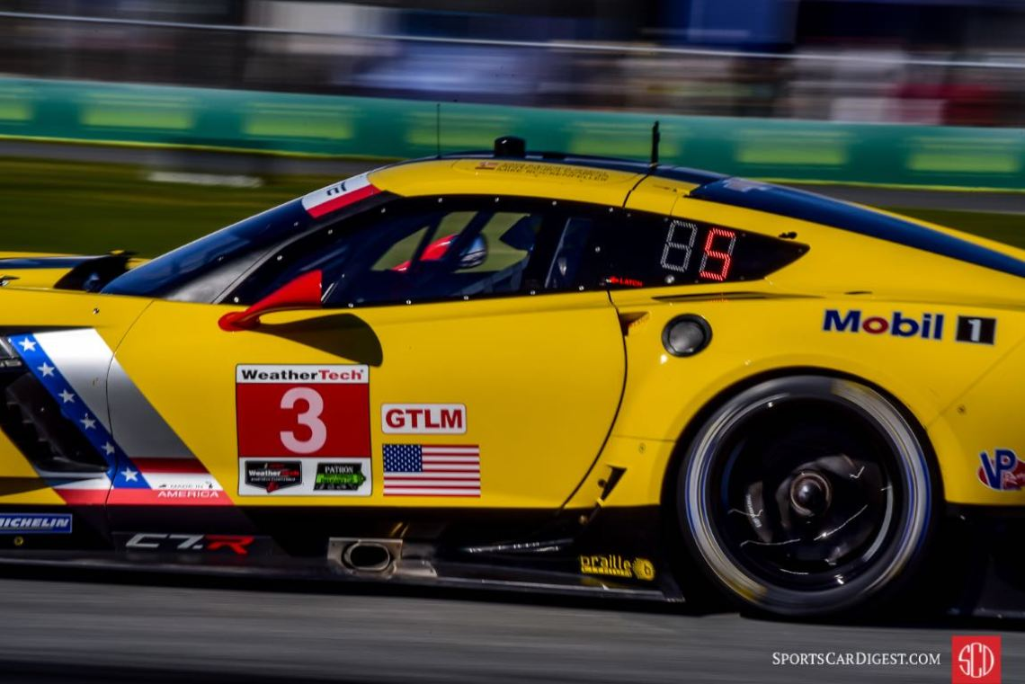 Chevrolet Corvette C7.R at 2016 Rolex 24 Hours of Daytona