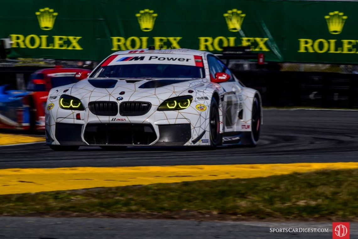 BMW M6 GTLM at 2016 Rolex 24 Hours of Daytona
