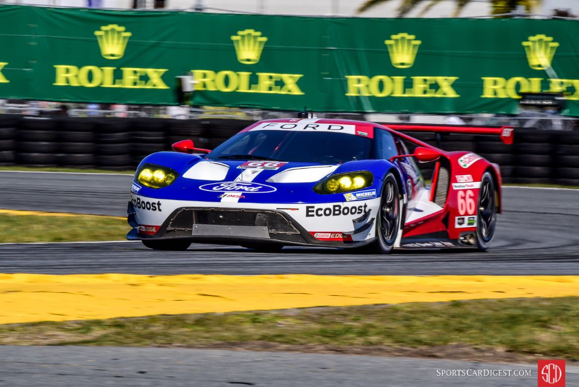 Ford Gt At  Hours Of Daytona