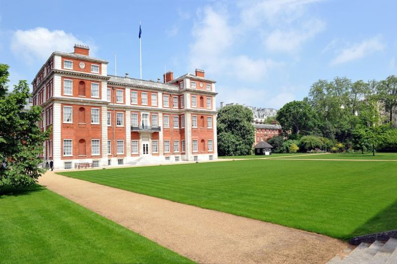 Marlborough House Gardens (photo: Tim Scott / Fluid Images)
