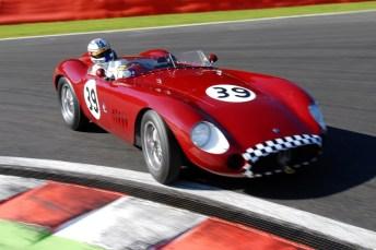 Maserati 300S at Spa-Francorchamps