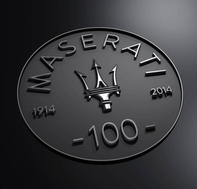Maserati Centennial Logo
