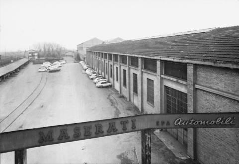 Maserati factory in 1965