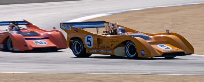McLaren Can-Am - Monterey Motorsports Reunion 2011