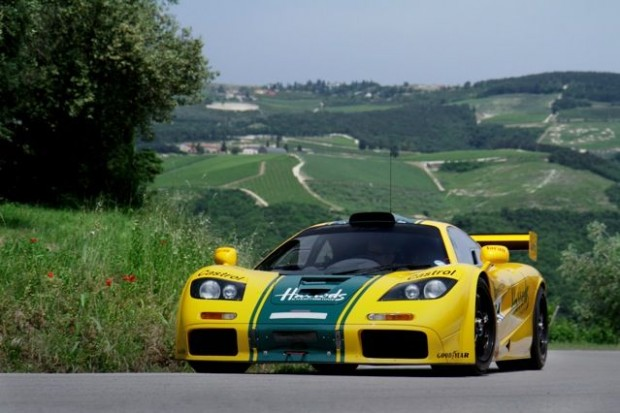 Chassis #06R - The Harrods racing GTR finished 3rd at 1995 24 Hours of Le Mans and 6th at 1996 running.