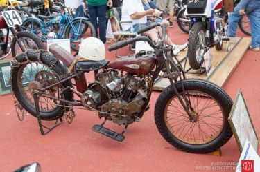1928 Indian Hillclimber owned by Rudy Pock