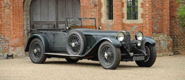 1928 Mercedes-Benz S Type Sports Tourer