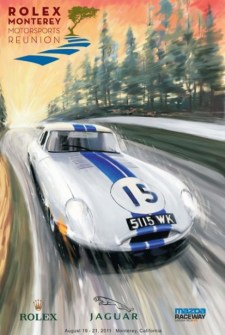 Monterey Motorsports Reunion - Official Poster Art for 2011