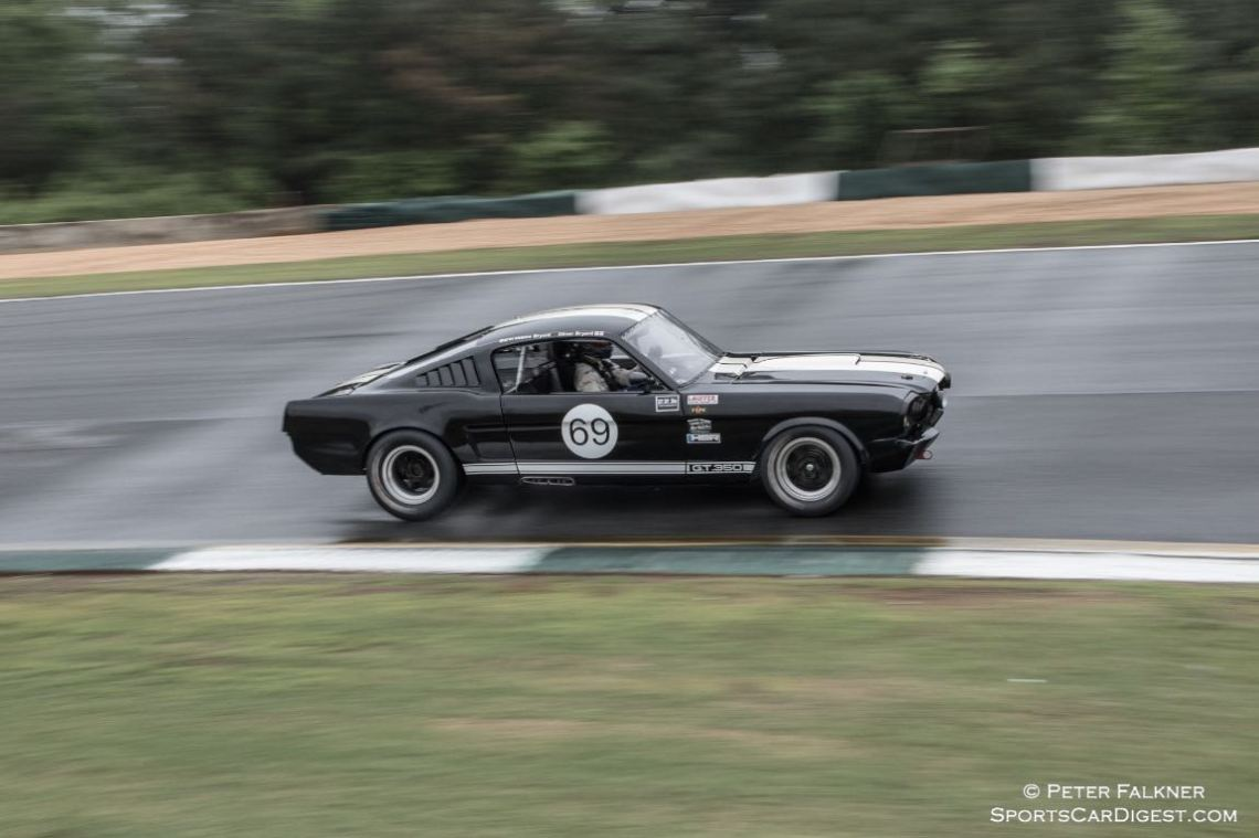 Bryant, 65 Ford Mustang GT splashing through 6