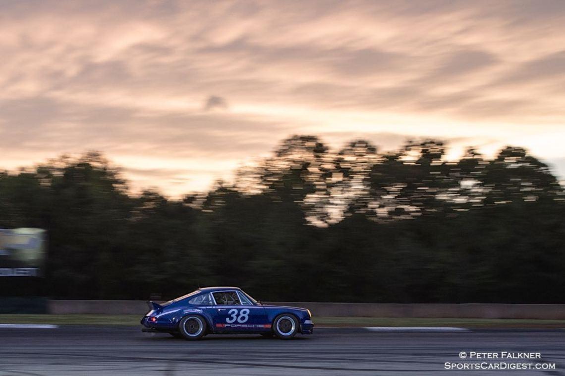 Eberhardt/Ellsworth, 72 Porsche 911 and a beautiful Georgia sunset