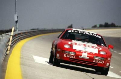Record ride of a Porsche 928 GTS in 1993 in Nardo
