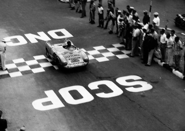 1954 Carrera Panamericana, Porsche 550