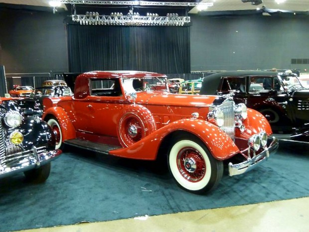 1934 Packard 1101 Eight Coupe