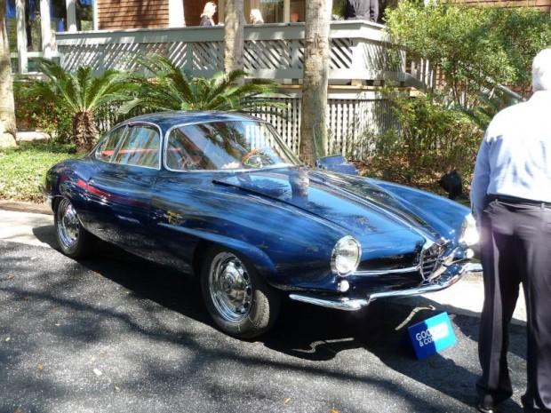 1961 Alfa Romeo Giulietta Sprint Speciale, Body by Bertone
