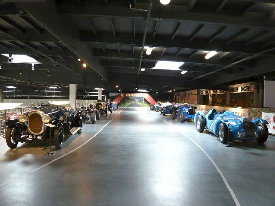 The Mezzanine Race Track, Mullin Automotive Museum