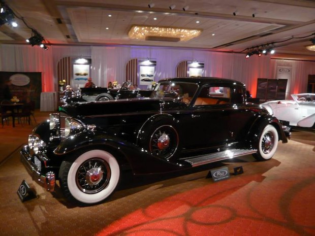 1933 Packard 1006 Twelve Coupe 2/4 Place, Body by Dietrich