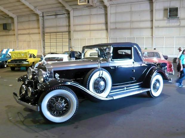 1930 Cadillac 370 V-12 Convertible Coupe