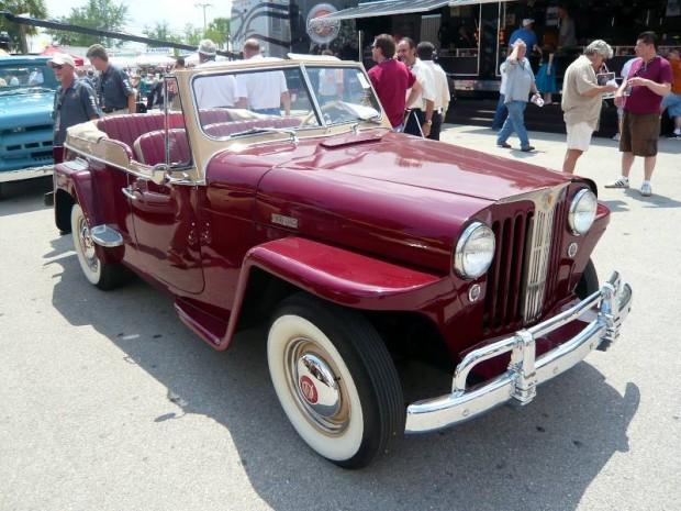 1949 Willys Jeepster Phaeton