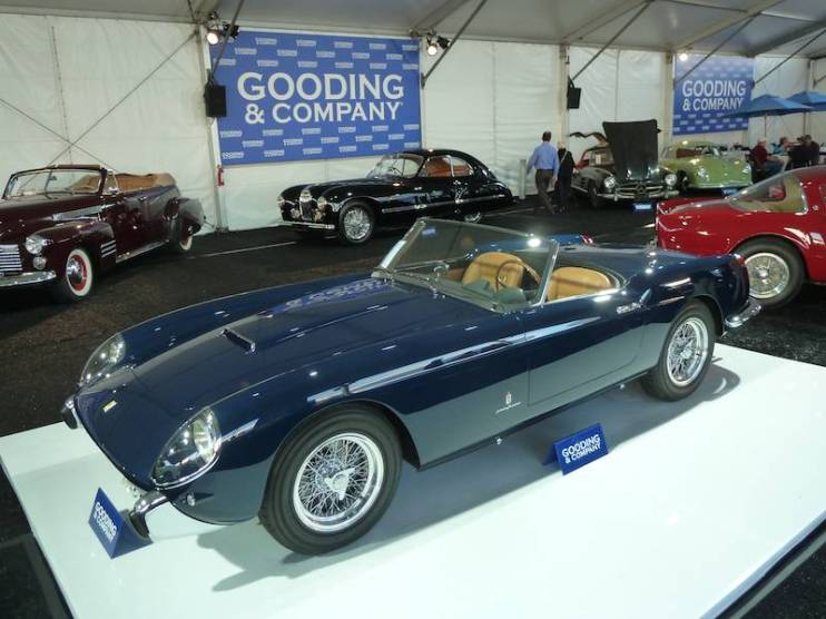 Ferrari 250 GT Series 1 Cabriolet at Gooding Scottsdale 2014
