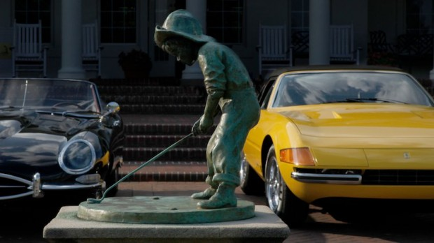 Putter Boy Statue at Pinehurst Resort