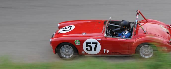 MG A at Pittsburgh Vintage Grand Prix 2013