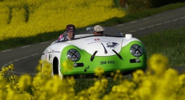 Porsche 356 Speedster of Junne and Maxted-Page