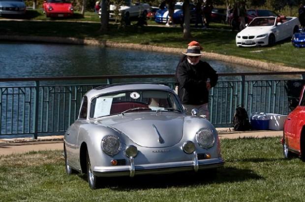 Porsche 356 at Niello Concours