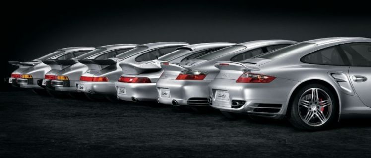 Porsche 911 Turbo Line-up