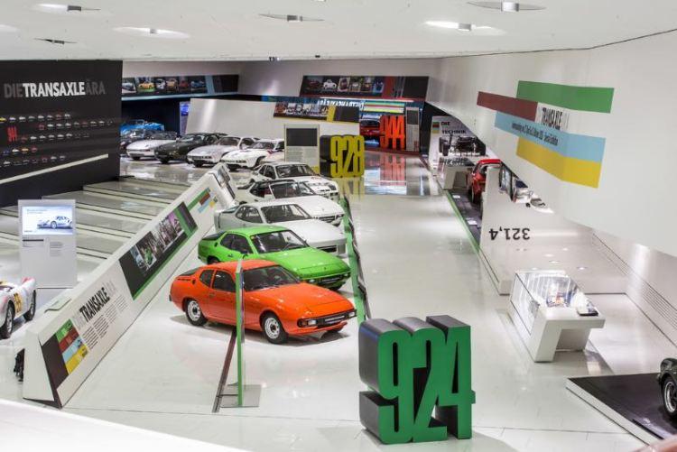 Porsche Exhibit - The Transaxle Era. From the 924 to the 928.