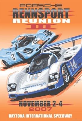 Porsche Rennsport Reunion III Poster