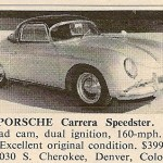 Porsche 356 Carrera Speedster – Classic Cars for Sale