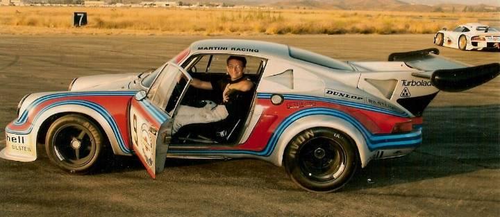 Trevor Ely in the Porsche RSR Carrera Turbo