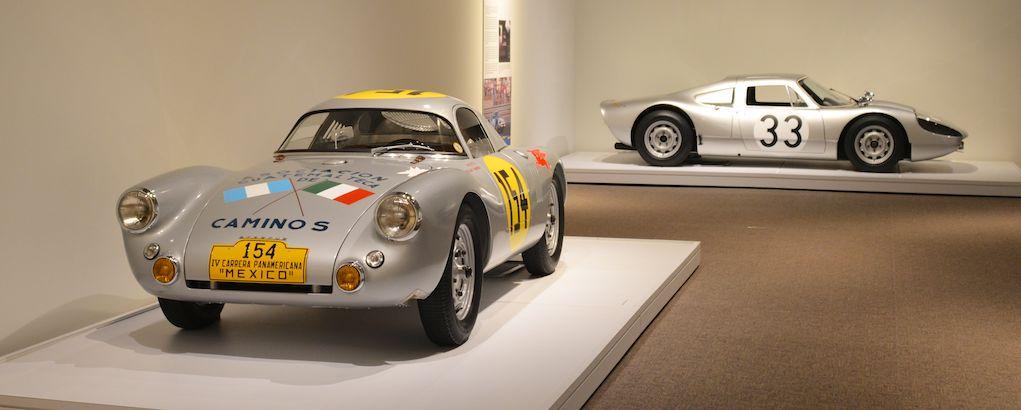 1953 Porsche 550 Prototype and 1965 Porsche 904/6