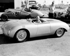 Max Hoffman in Glockler Porsche