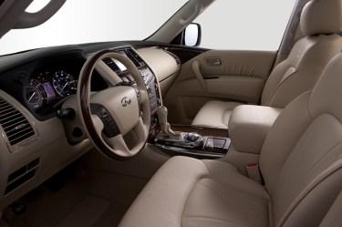 Infiniti QX56 Interior