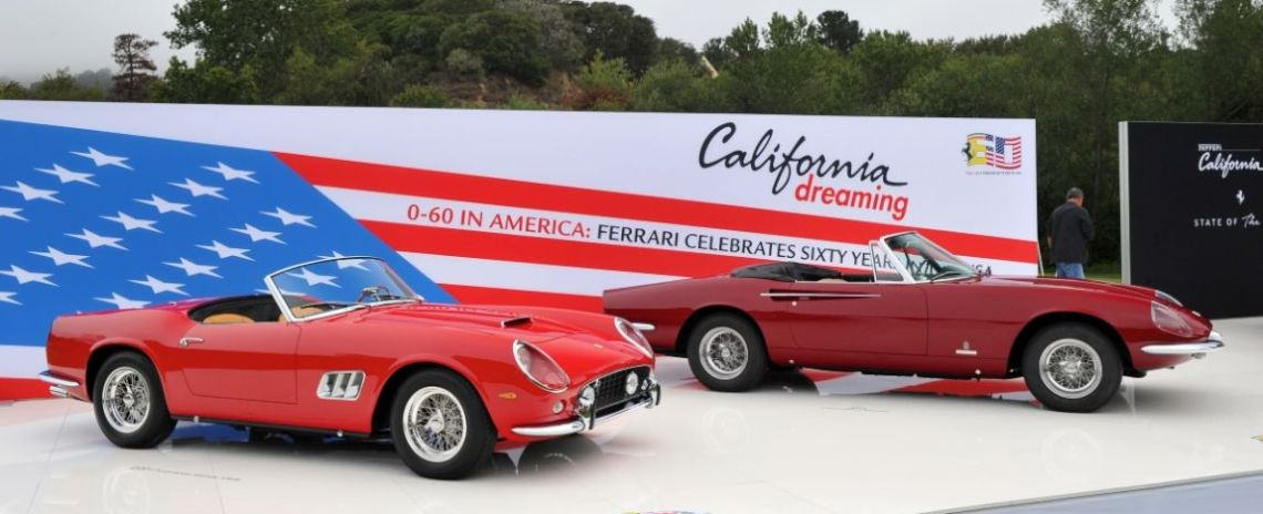 Ferrari 250 GT SWB California Spider and Ferrari 365 California Spider