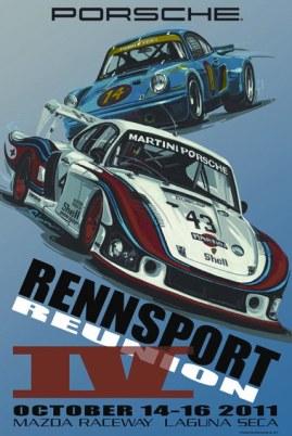 Rennsport Reunion IV Official Poster