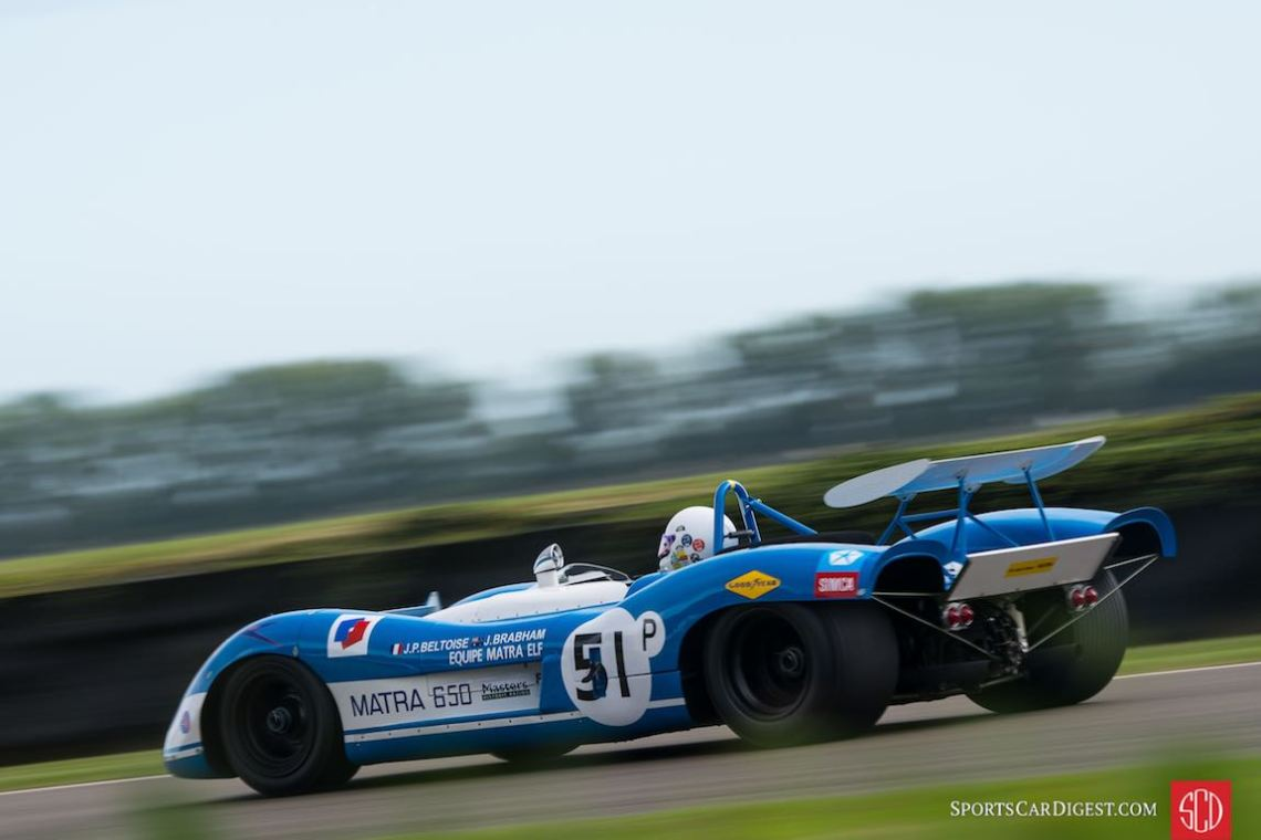 1970 Matra-Simca MS650 for the Jack Brabham Tribute