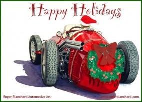 Roger Blanchard Holiday Card