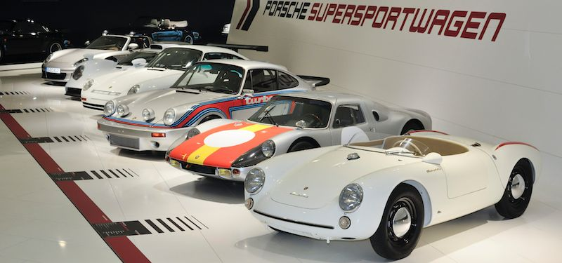 Years Of Super Sports Cars Exhibit At Porsche Museum - Sports cars under 60