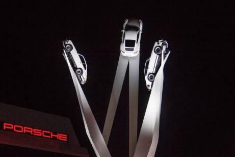 Inspiration 911 Sculpture at Porscheplatz