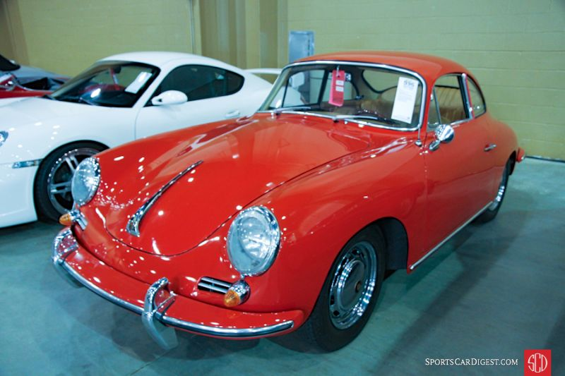 1964 Porsche 356 SC Coupe, Body by Karmann